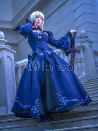 Fate Grand Order Fgo Saber Cosplay Costume Black Saber Halloween