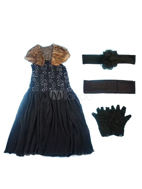 vintage charleston kleid flapper kost m 20er jahre kleid. Black Bedroom Furniture Sets. Home Design Ideas