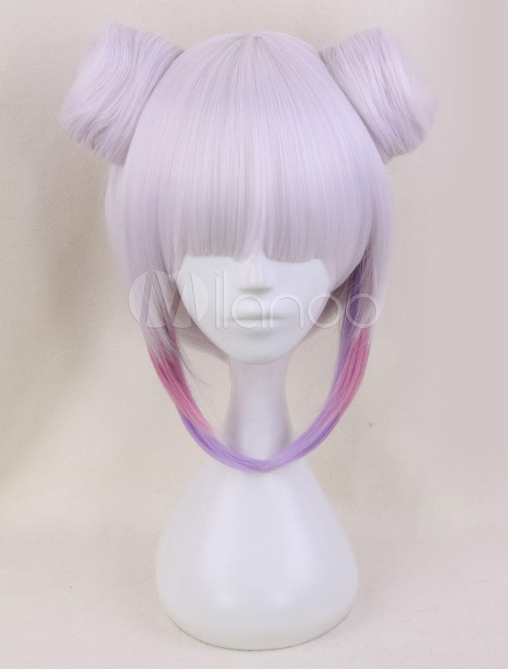 Miss Kobayashi's Dragon Maid Kanna Kamui Kawaii Cosplay Wig Halloween