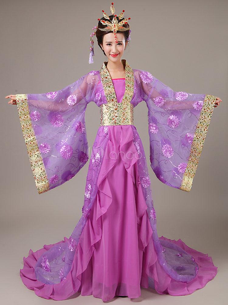 karneval chinesisches kost m rosa flanell farben block. Black Bedroom Furniture Sets. Home Design Ideas