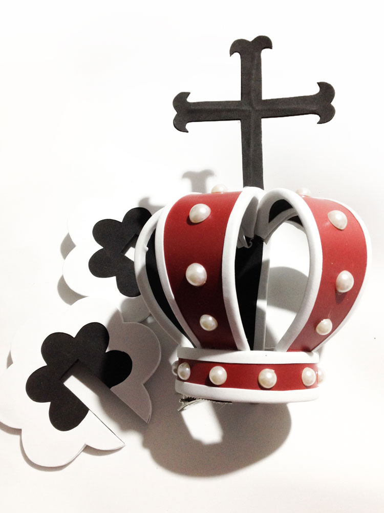 One Piece Perona Ghost Princess Cosplay Crown Young Version Halloween