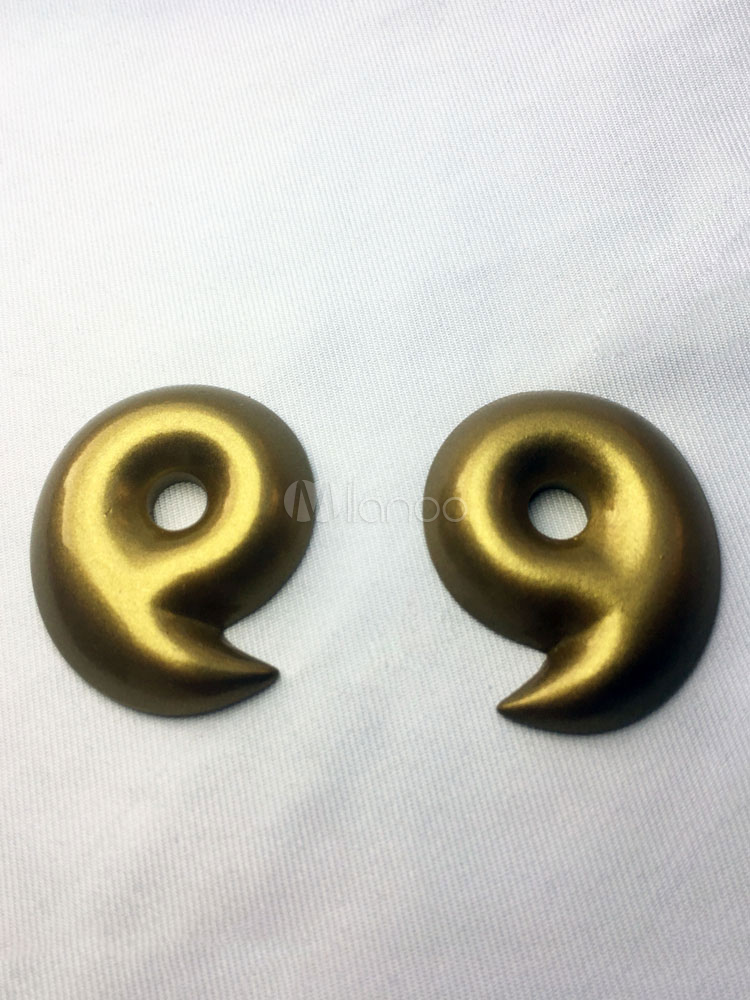 Buy Naruto Cosplay Gold Magatama Cosplay Props Halloween for $8.27 in Milanoo store