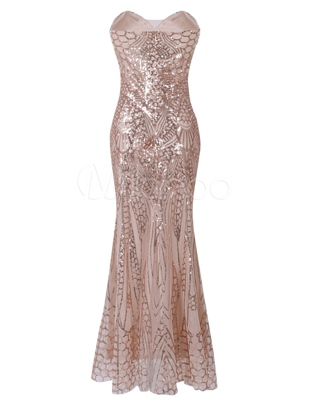 Great Gatsby Flapper Dress 1920s Vintage Costume Women\'s Champagne ...
