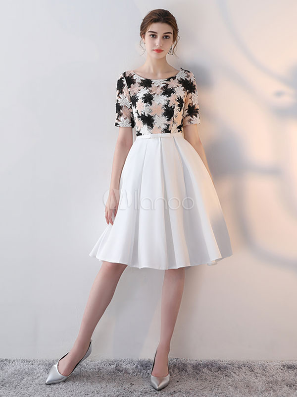 Pleated Cocktail Dress