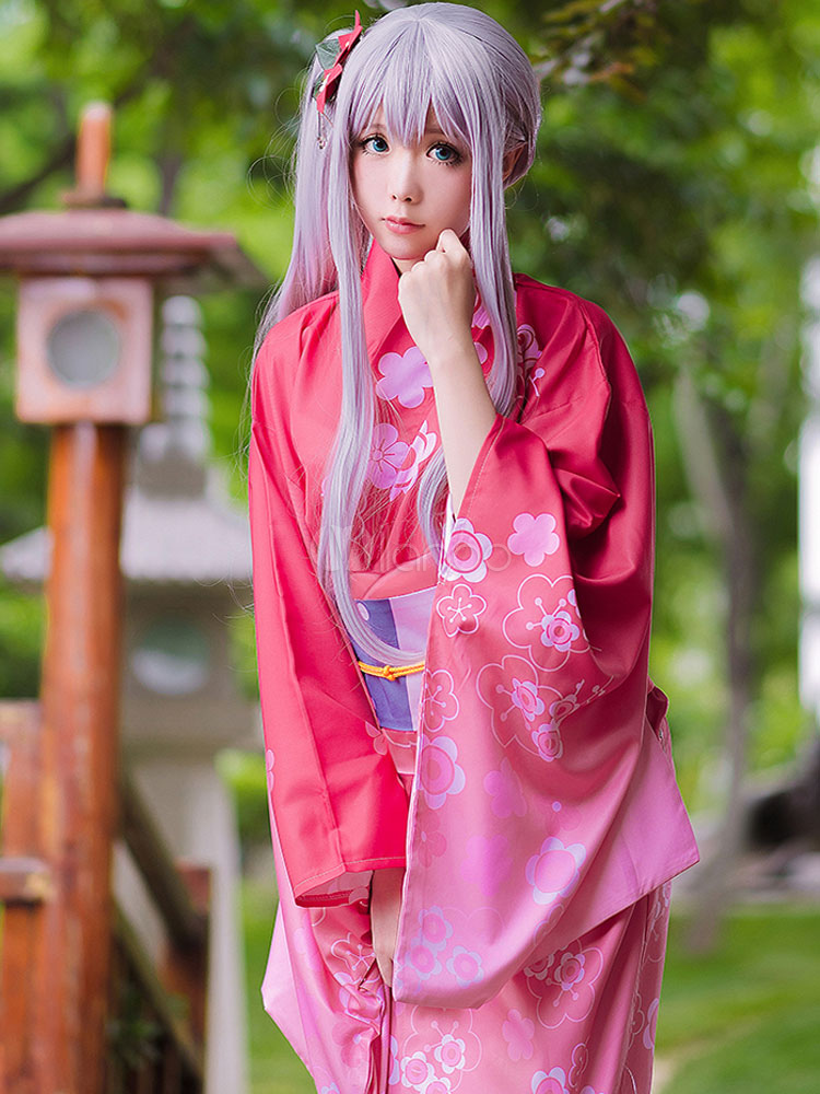 Eromanga Sensei Izumi Sagiri Kimono Version Cosplay Costume Halloween