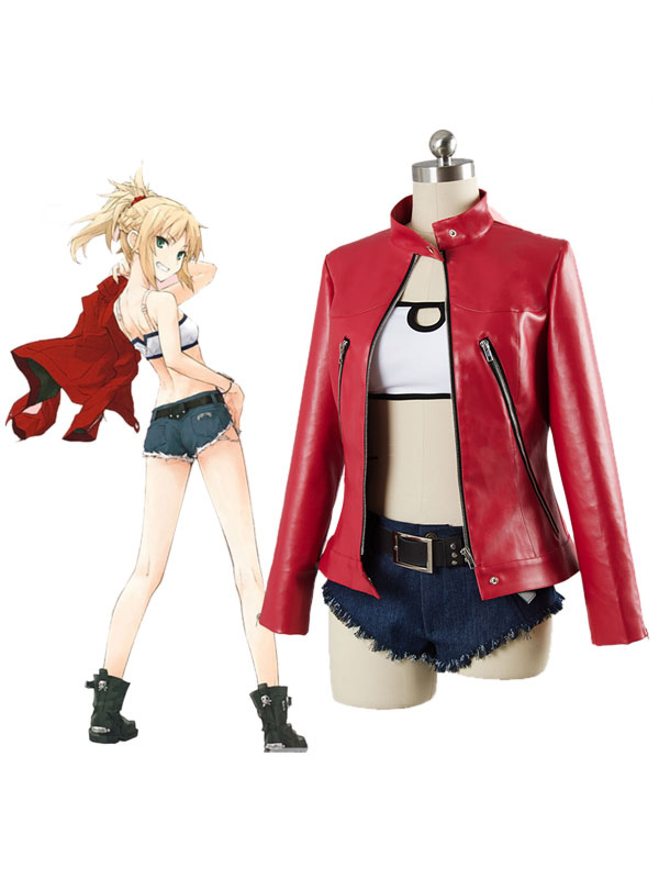 Fate Apocrypha Saber Of Red Mordred Daily Wears Halloween Cosplay Costume