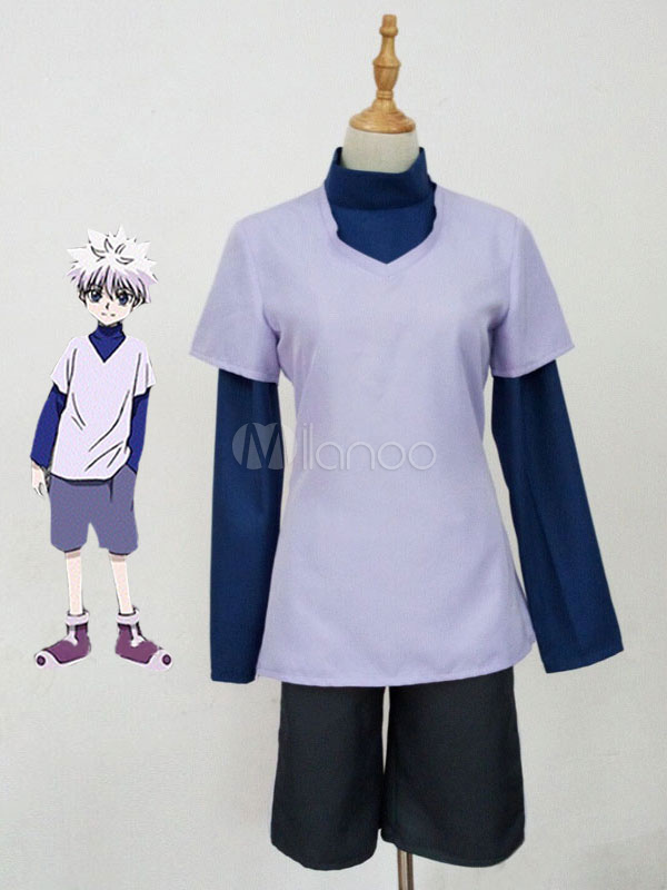 Hunter X Hunter Killua Zoldyck Halloween Cosplay Costume Halloween