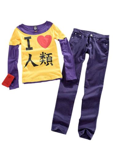 No Game No Life Sora Cosplay Costume Pants Top Halloween