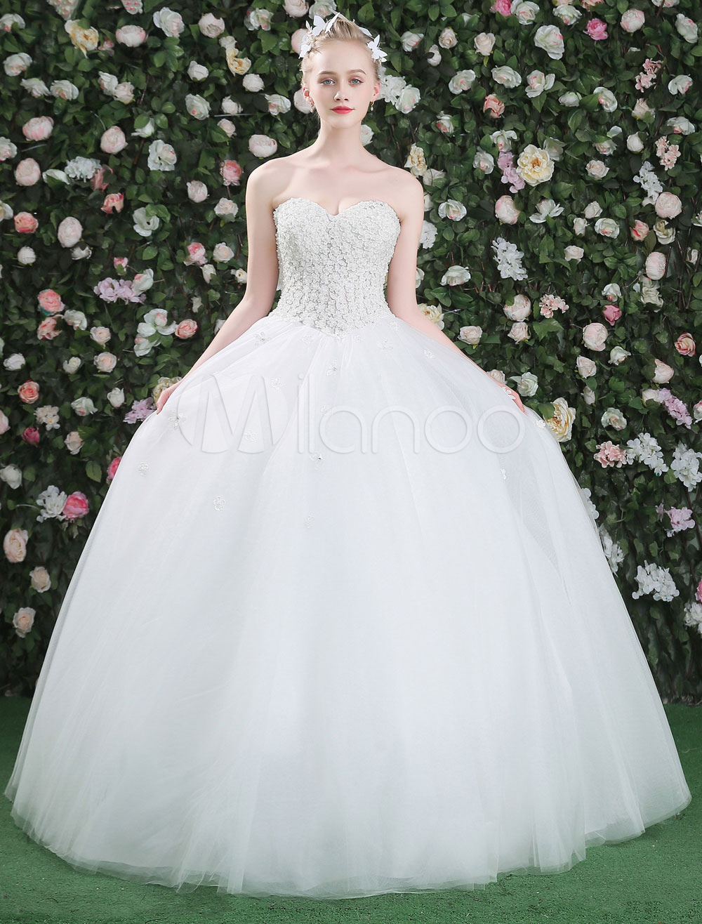 princesse robe de mari e princesse encolure en coeur avec. Black Bedroom Furniture Sets. Home Design Ideas
