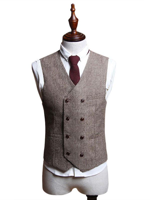 33765cf6c41 Costume vintage pour homme aristocrate en polyester en polyester de fêtes  pour adultes pour homme Gilet ...