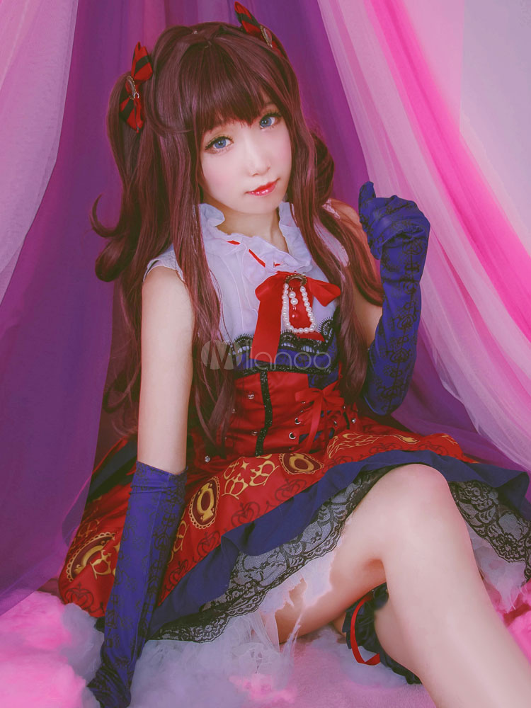 Buy The Idolmaster Cinderella Girls Takagaki Ichinose Shiki Kawaii Cosplay Costume for $102.99 in Milanoo store