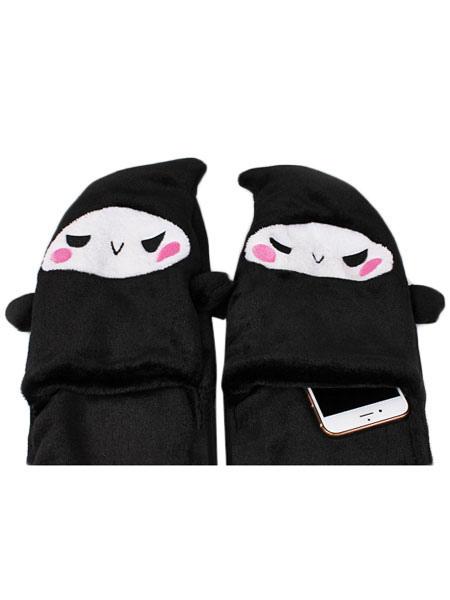 Overwatch OW Reaper Winter Hat Gloves Scarf Three Piece - Milanoo.com ea3c01632419
