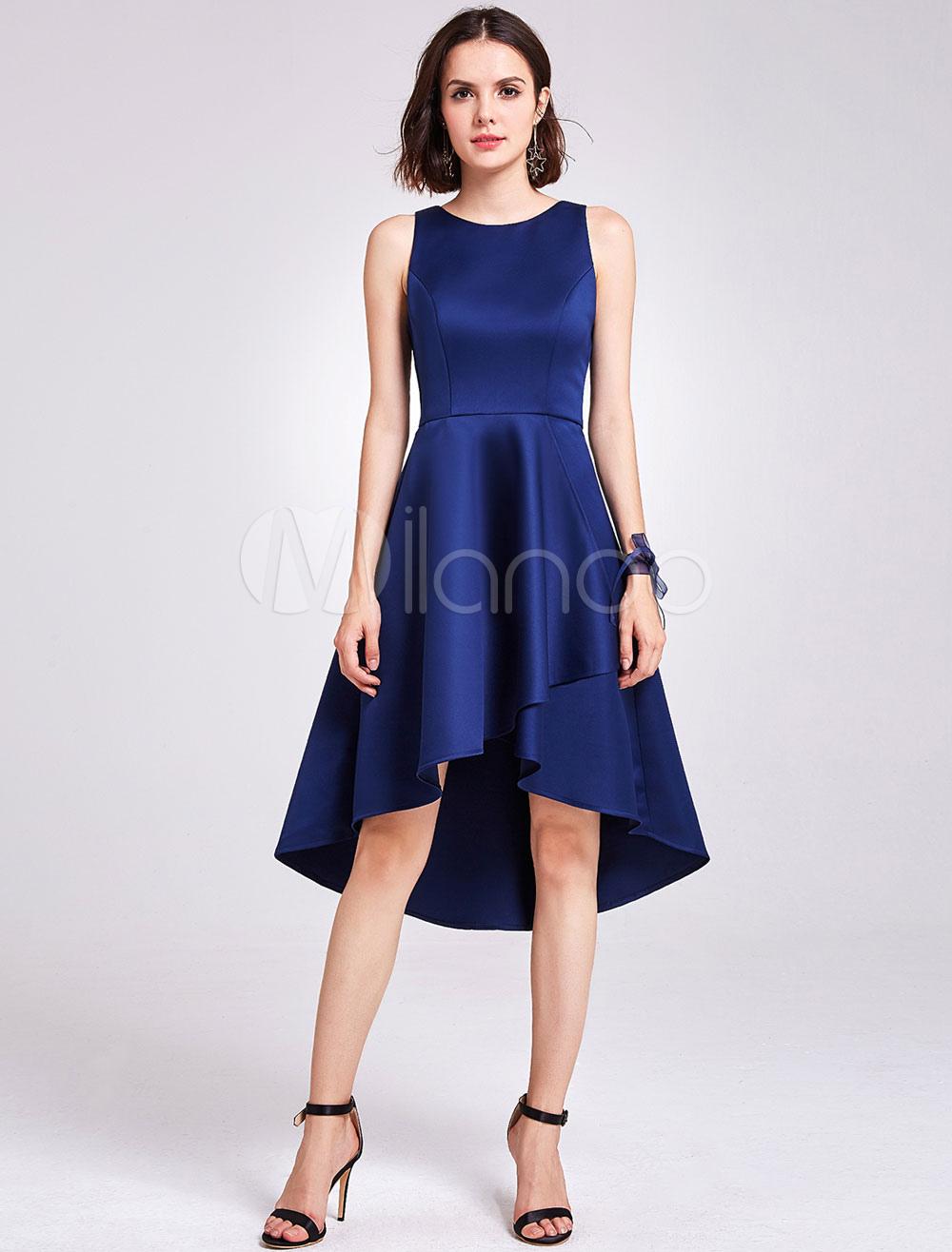 f7d16e82729e bridesmaid Dress 2019, Navy Blue bridesmaid Dress,Short bridesmaid dress, long  bridesmaid dress, | Milanoo.com