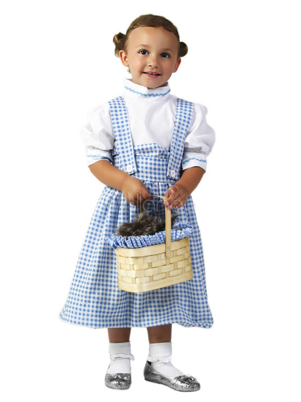 the wizard of oz womens halloween costume dorothy baby blue dress with top and headpieces
