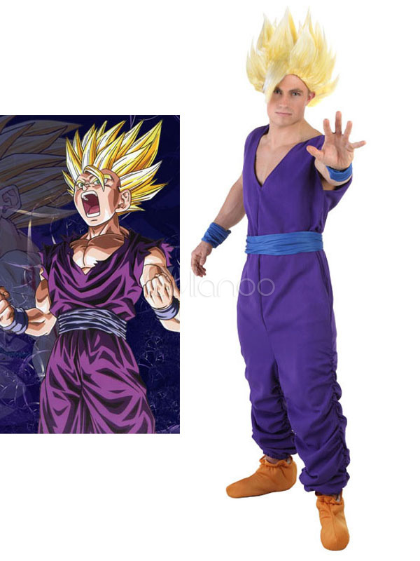 Dragon Ball Son Gohan niño traje de Halloween Cosplay - Milanoo.com