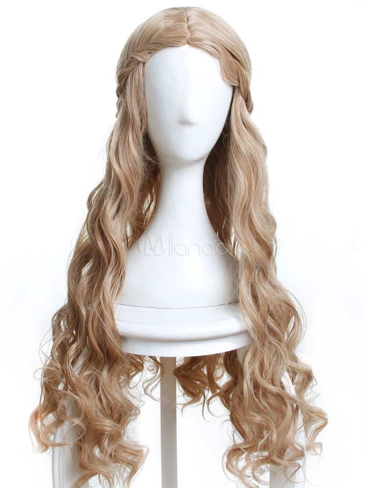 Game Of Thrones Cersei Lannister Halloween Cosplay Wig