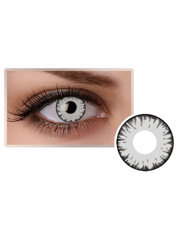 Anime Grey Halloween Cosplay Contact Lenses 2019 Colored Contacts
