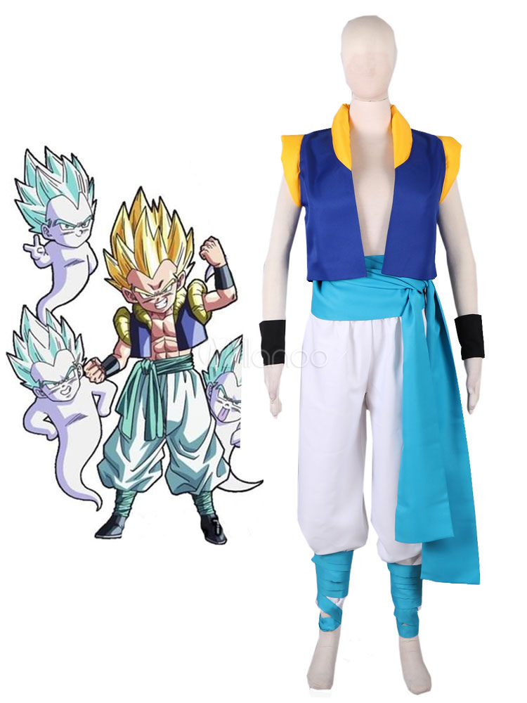 Dragon Ball Gotenks Halloween Cosplay Costume