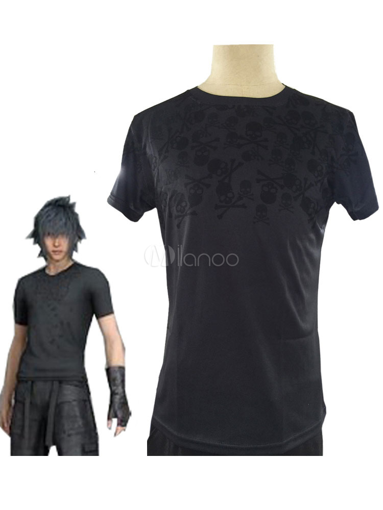 Buy Final Fantasy XV Noctis Lucis Cosplay Costume T Shirt for $27.99 in Milanoo store