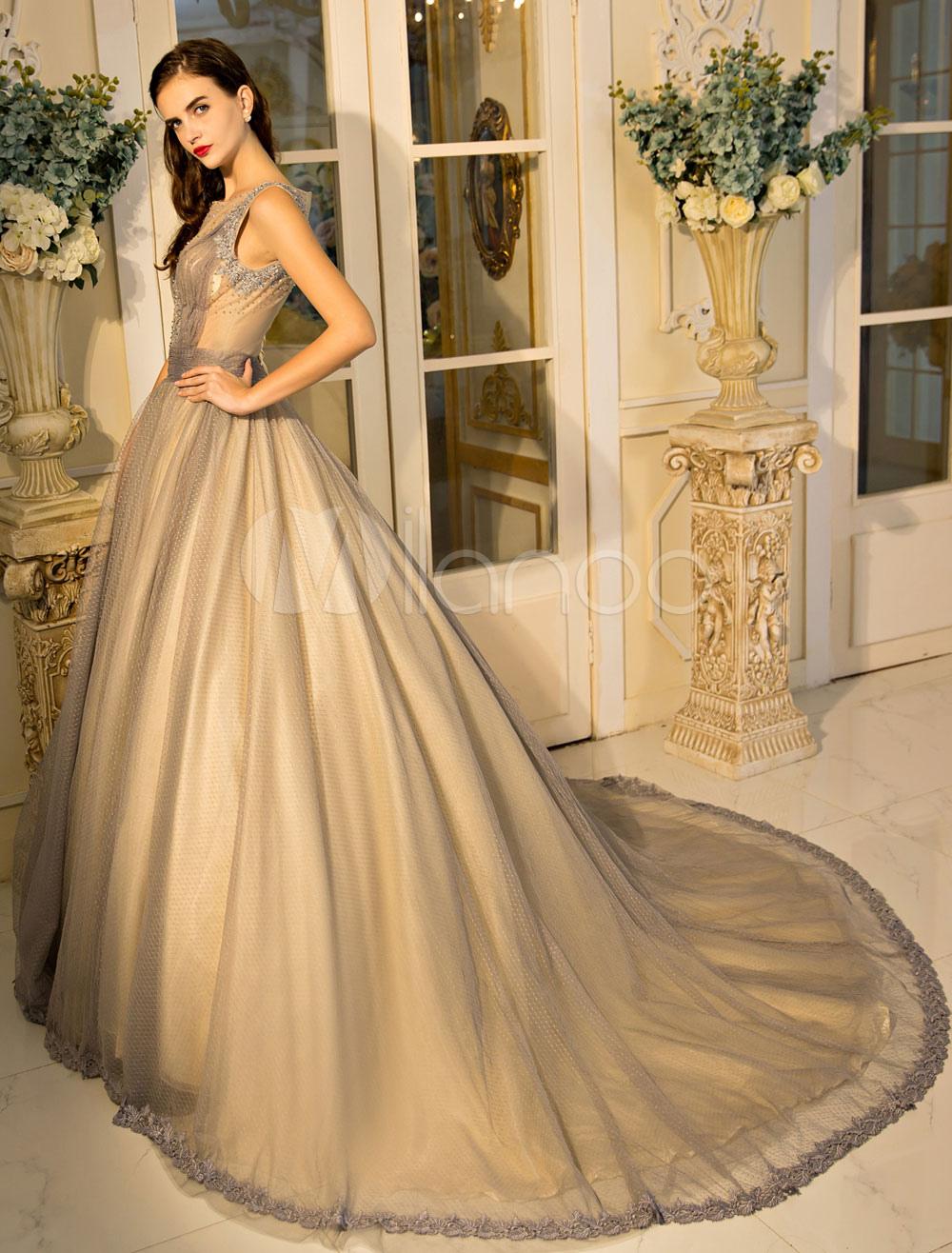 Robe de soiree dentelle luxe