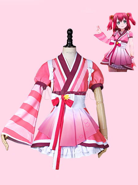 Love Live Sunshine!! Aqours Kurosawa Ruby Kawaii Cosplay Costume