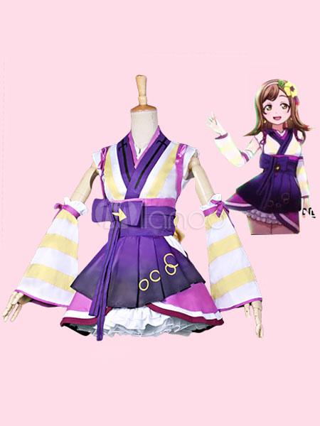 Love Live Sunshine!! Aqours Kunikida Hanamaru Kawaii Cosplay Costume