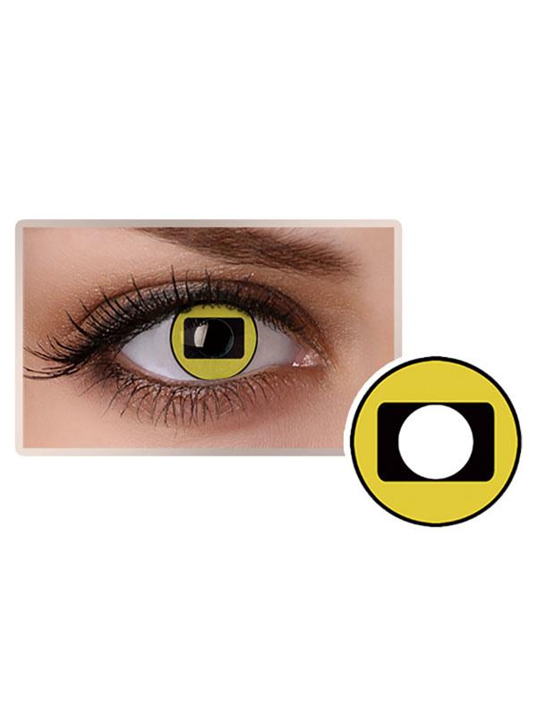 Naruto Uzumaki Sennin Model Frog Eye Halloween Cosplay Contact Lenses
