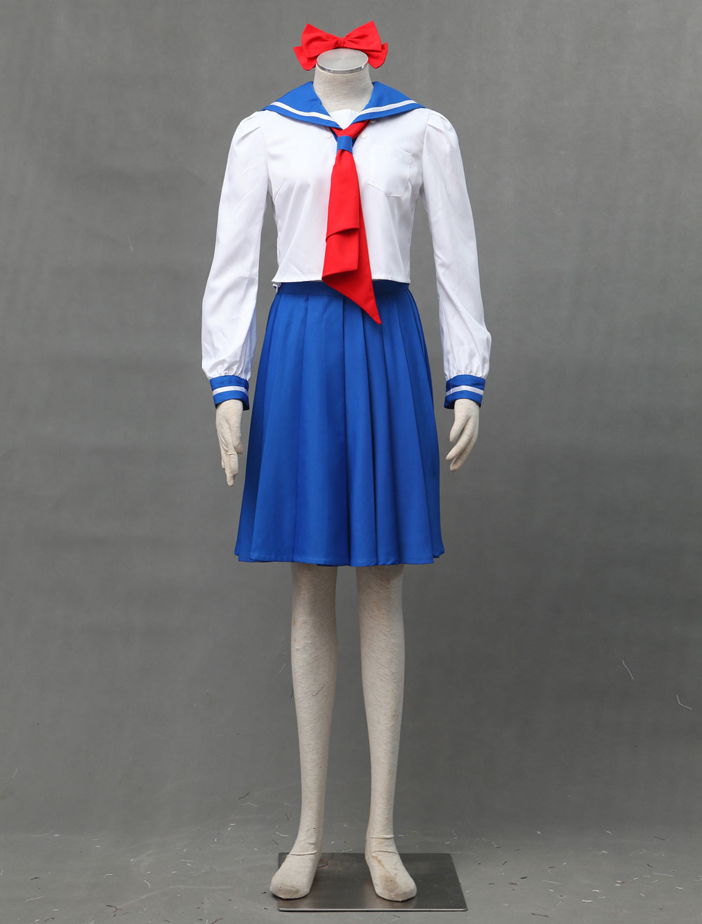 Kids Girls Sailor Venus Mina Aino Dress Sailor Moon Halloween Cosplay Costume