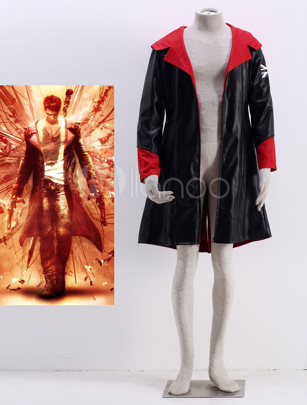 Devil May Cry 5 Dante Halloween Cosplay Costume