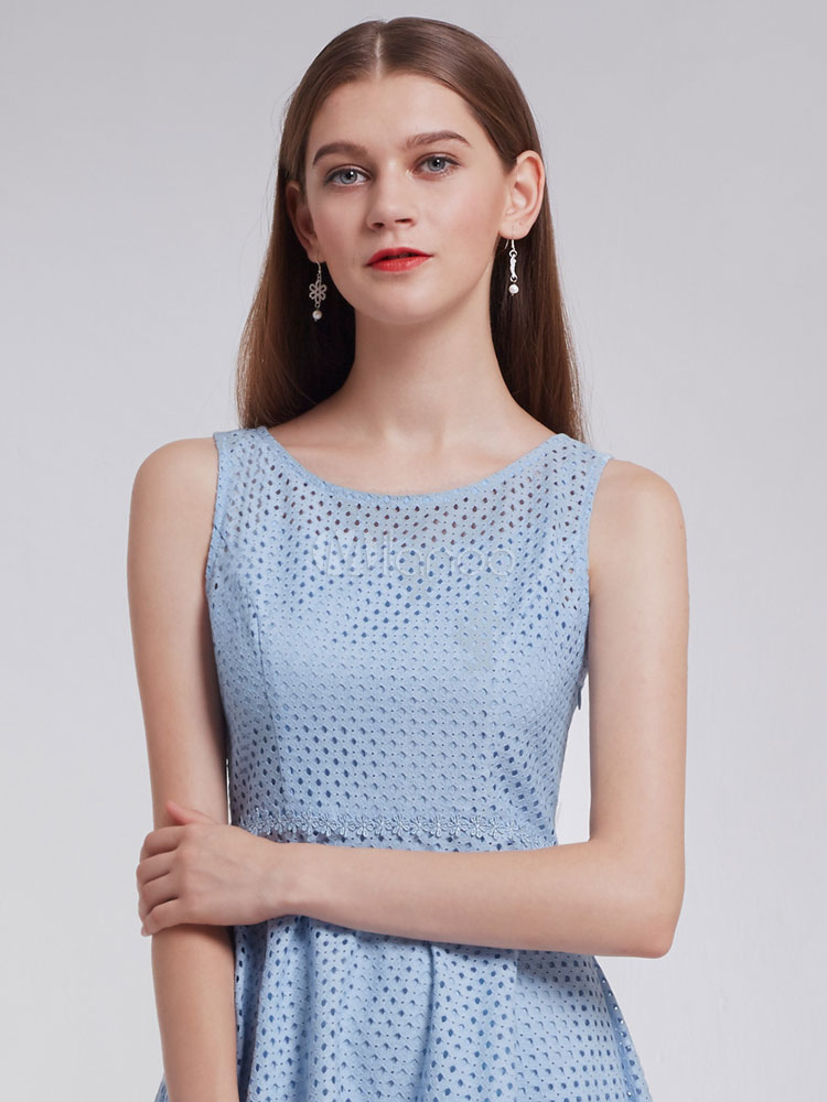 9e180222ade ... Short Homecoming Dresses Baby Blue Lace Graduation Dress A Line Mini  Formal Party Dresses-No