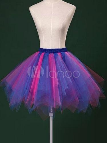 4e877b15c مثير ثوب نسائي الوردي تول قماش قطني للنساء - Milanoo.com