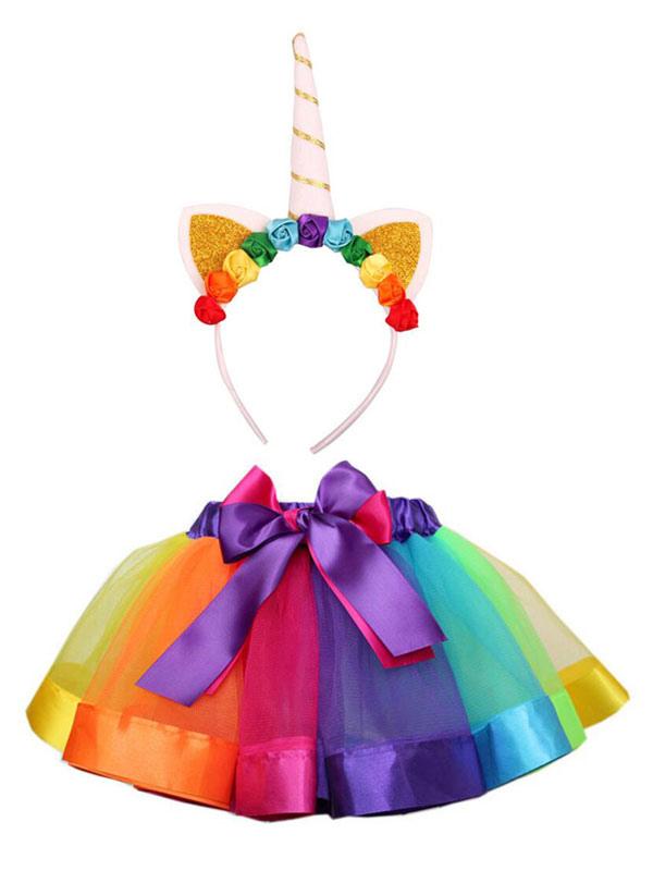 unicorno costume carnevale  Costumi per bambini Unicorno set Carnevale accessori per la testa ...
