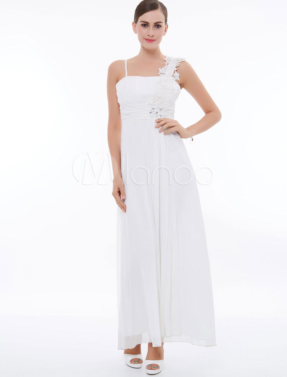 4470318d68ca White Bridesmaid Dresses Long | Saddha