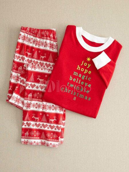Pyjama Noel Homme Pyjamas De Deguise De Famille En Coton Noel En