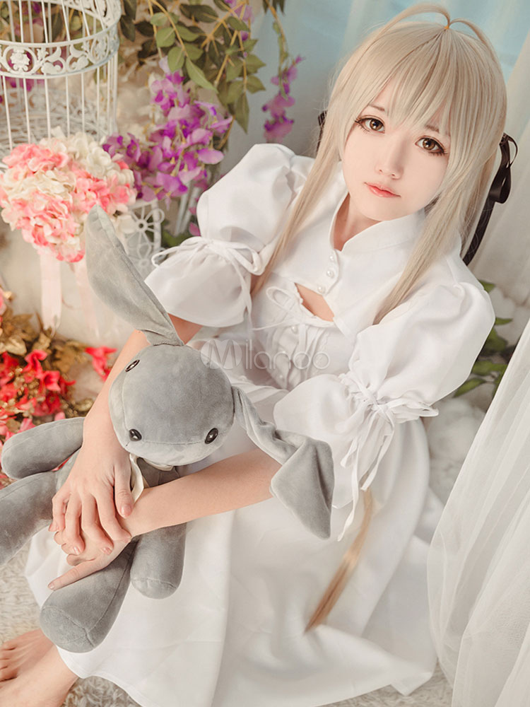 Yosuga No Sora Kasugano Kawaii Anime Girl Cosplay Costume Milanoo Com