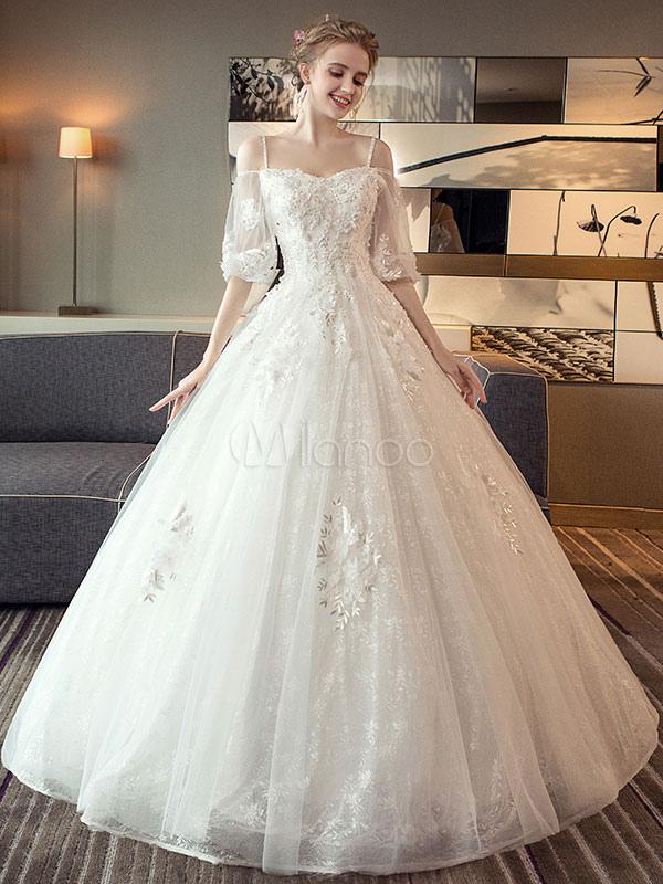 Wedding Dresses Princess Ball Gowns Bridal Dress Off The Shoulder ...
