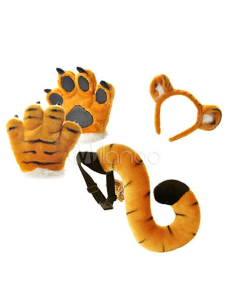 Halloween de tigre de color-blocking para niños pequeños - Milanoo.com