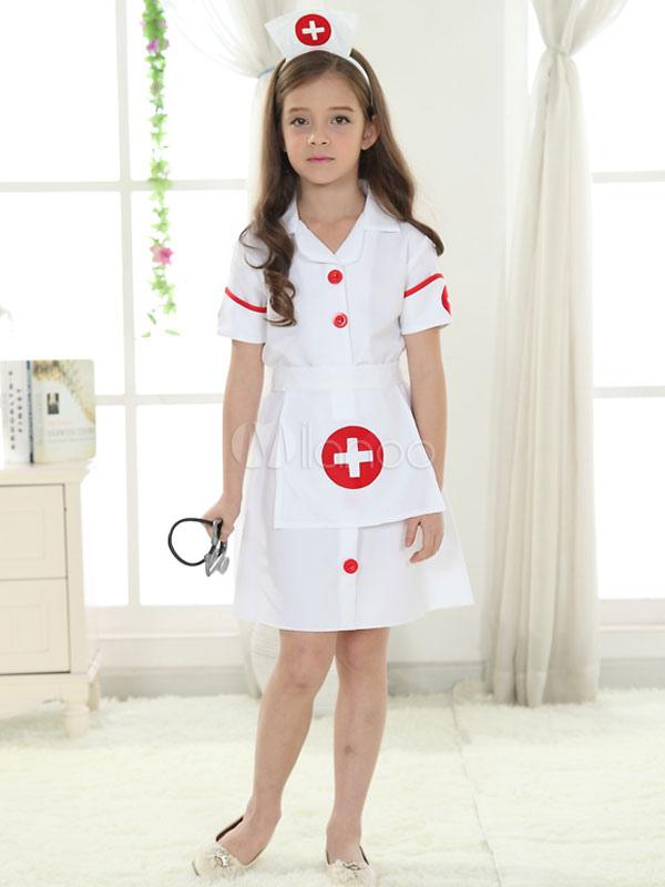Halloween Girl Nurse Costume Adolescent Costume