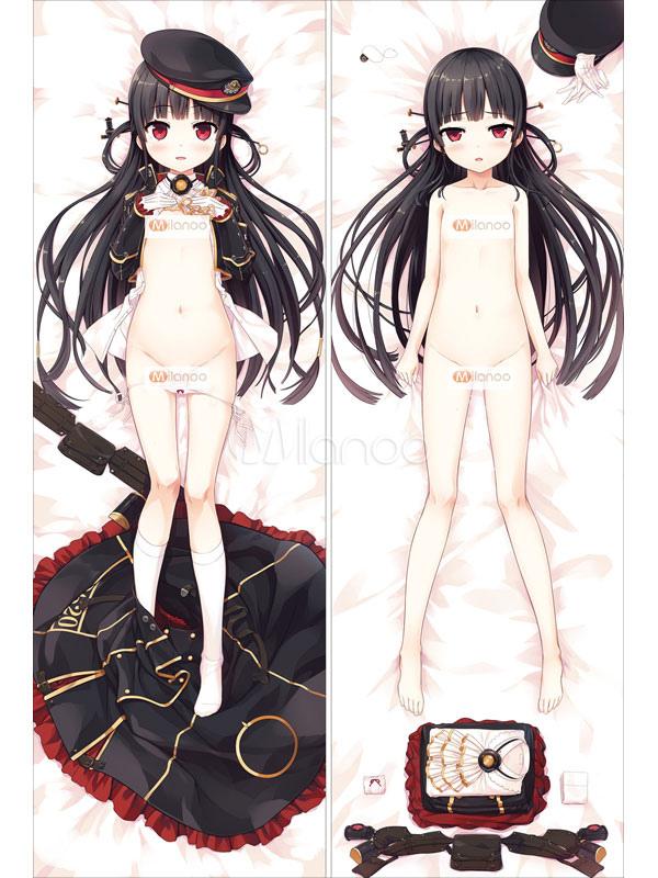 Buy Anime Railway Kawaii Sexy Naked Girl Pillowcase for $22.99 in Milanoo store