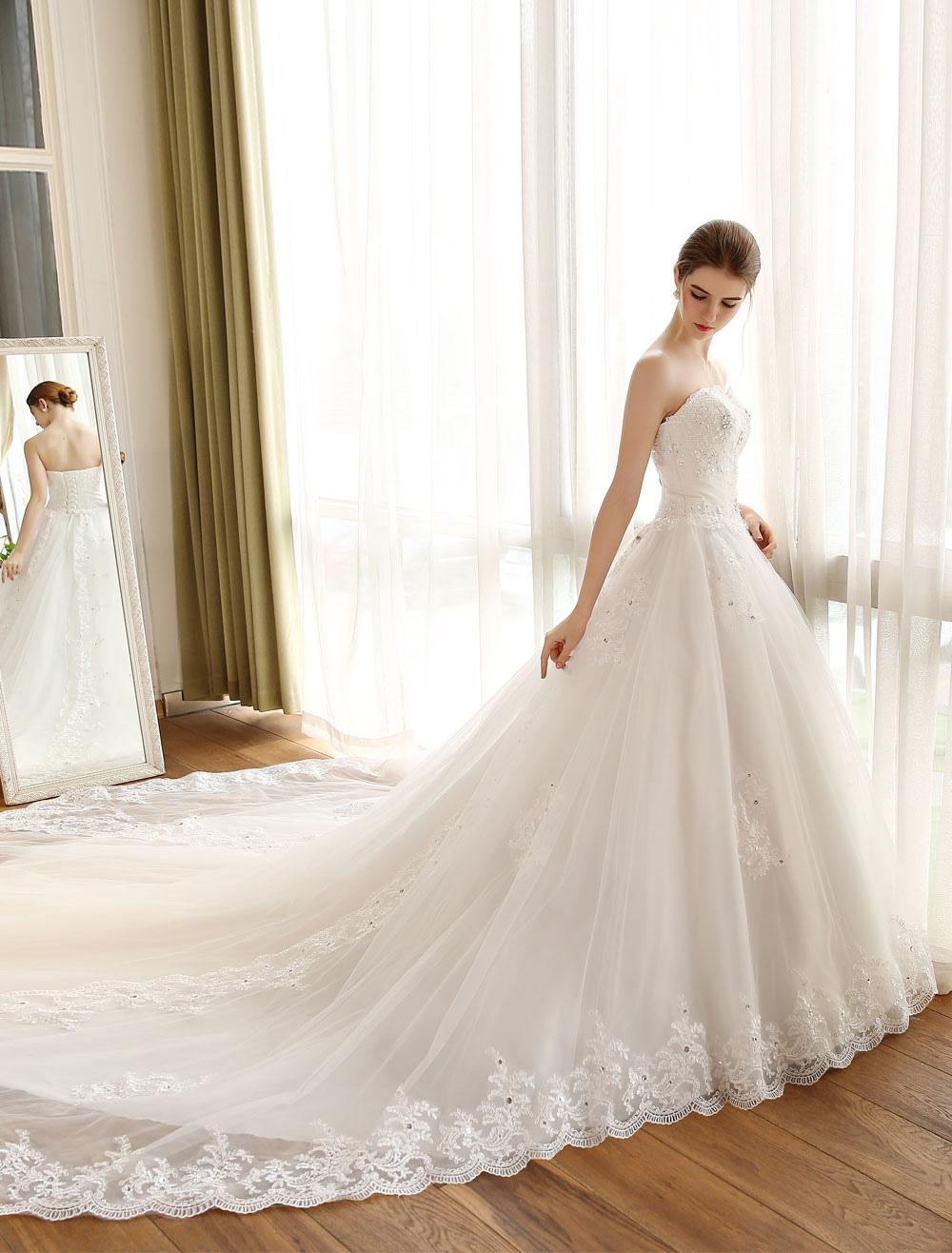 princesse robe de mariée hall jardin Avec