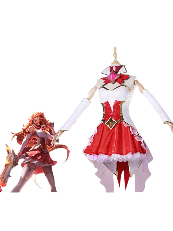 Buy League Of Legend Lol Star Guardian Miss Fortune The Bounty Hunter Cosplay Costume for $152.09 in Milanoo store