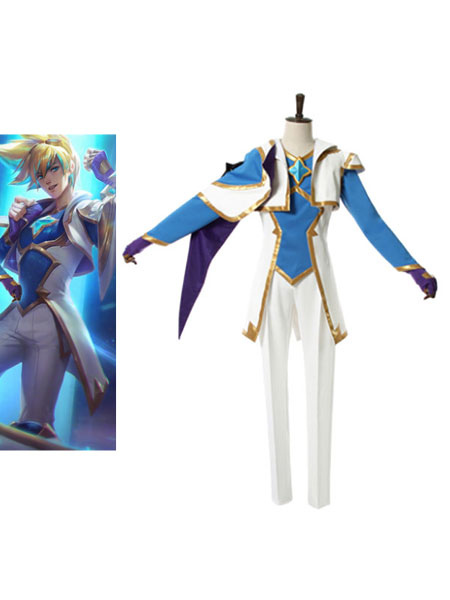 Buy League Of Legend Lol Star Guardian Ezreal Cosplay Costume Full Set for $171.99 in Milanoo store
