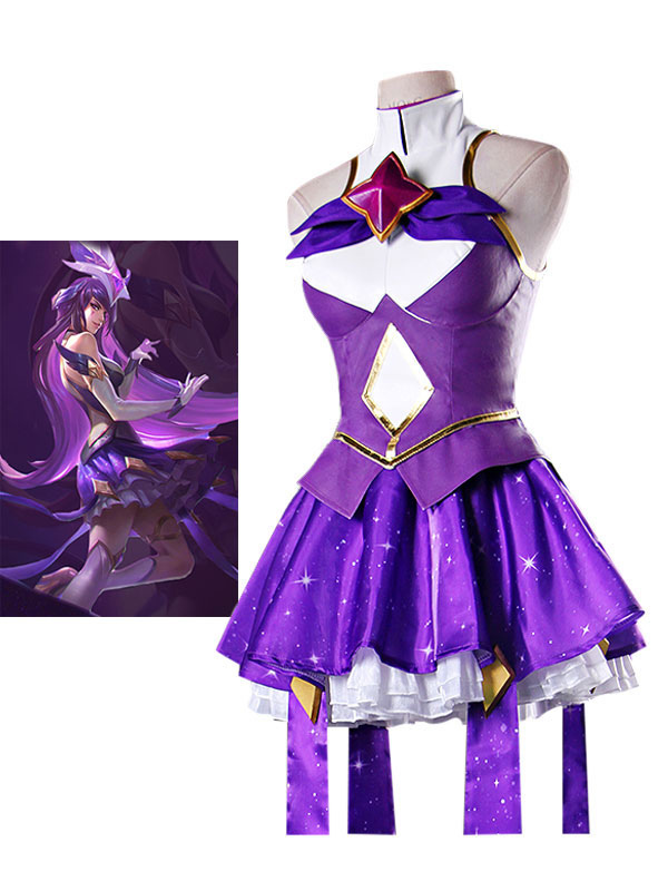 League Of Legend Lol Star Guardian Syndra Cosplay Costume