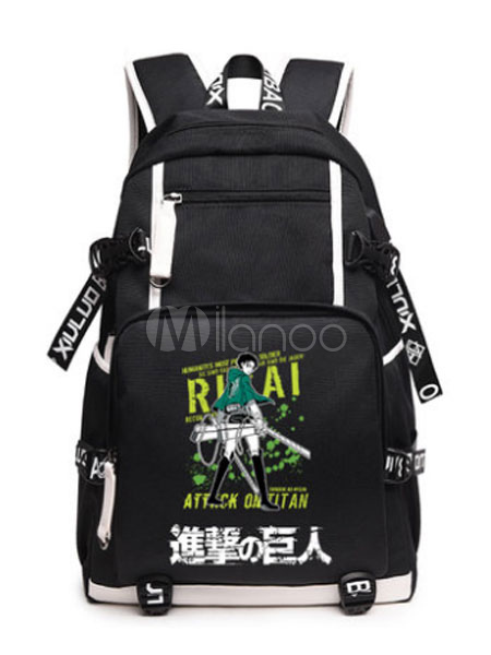 Buy Attack On Titan Shingeki No Kyojin Survey Corps Scout Regiment Cool Backpack Halloween for $44.09 in Milanoo store