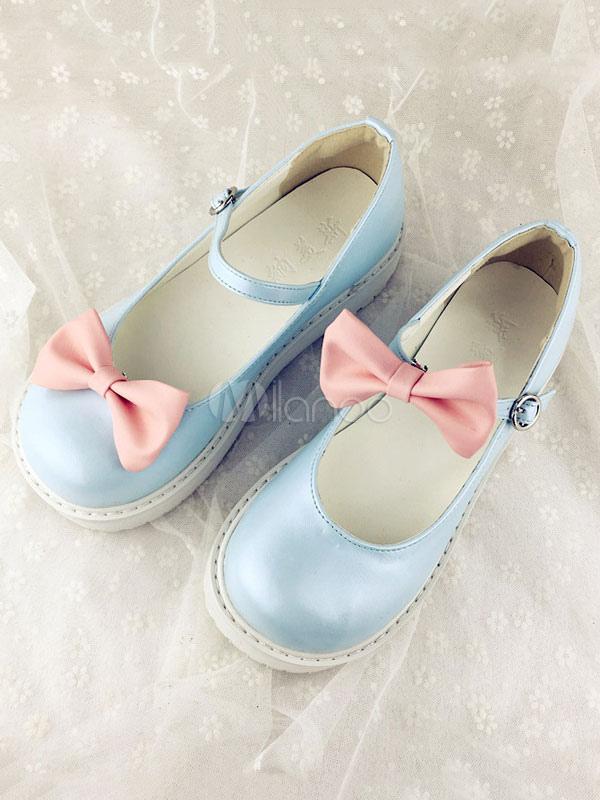 Kawaii Lolita Shoes Detachable Ruffles Lolita Shoes