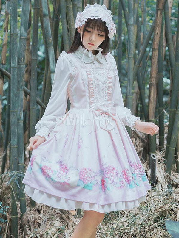 Buy Sweet Lolita Jumper Skirt Kawaii Lolita Jsk for $48.59 in Milanoo store