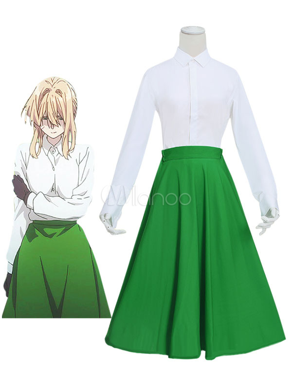 Violet Evergarden Daily Wear Cosplay Costume