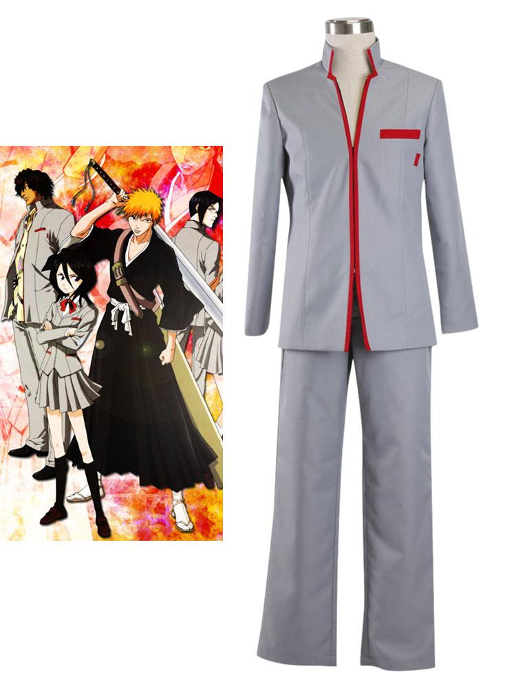 Bleach Kurosaki Ichigo School Uniform Cosplay Costume