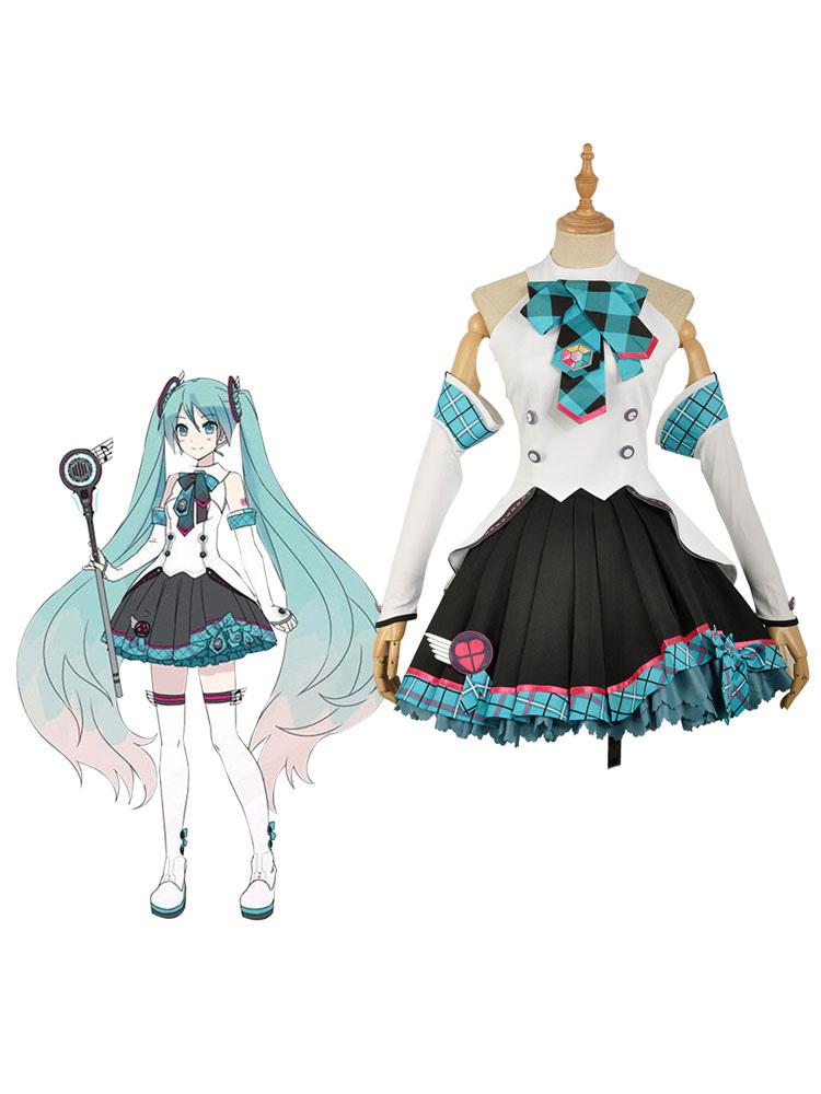 2017 Vocaloid Hatsune Miku Concert Version Cosplay Costume