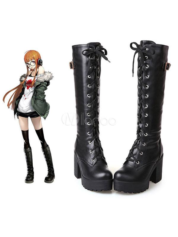 Persona 5 Futaba Sakura Halloween Cosplay Shoes